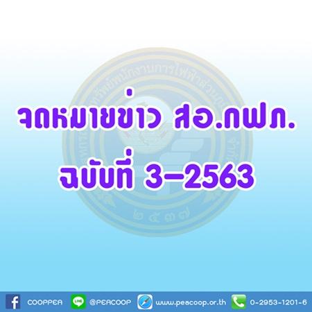 จดหมายข่าว ฉบับที่ 3/2563